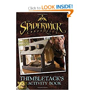 Thimbletack's Activity Book (Spiderwick Chronicles (Simon Scribbles Paperback))