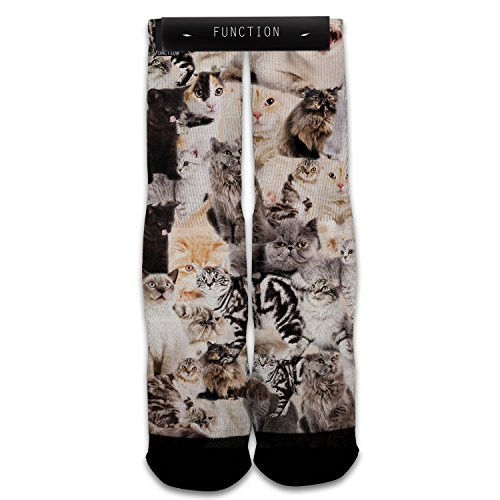 Function - Cats All Over Printed Sock