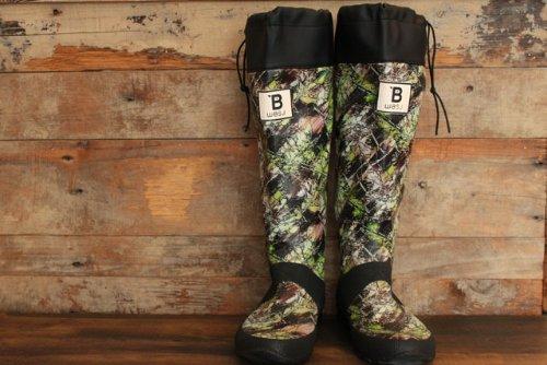 [日本野鳥の会] Wild Bird Society of Japan バードウォッチング長靴 L(26.0cm) カモフラージュ柄