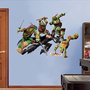 Teenage Mutant Ninja Turtles Shredder Battle Fathead