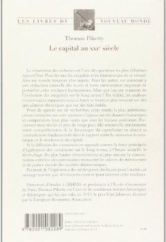 Livres Couvertures de Le Capital au XXIe siècle