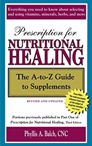 "Cover of ""Prescription for Nutritional He..."