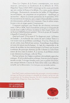 Telecharger Les Origines de la France contemporaine - NE de Hippolyte TAINE
