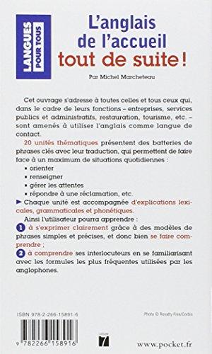 Telecharger L Anglais De L Accueil Tout De Suite Pdf Livre