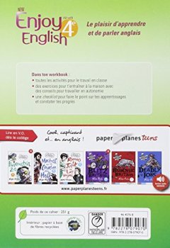 Livres Couvertures de NEW ENJOY ENGLISH 4ème - Cahier d'activités