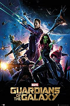 Image result for guardians of the galaxy movie cover