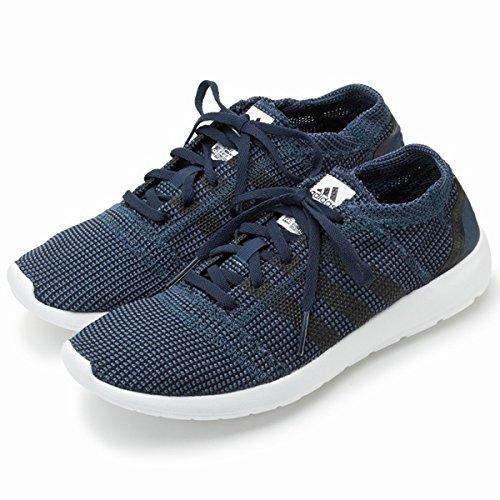 アディダス(adidas) ニット調メッシュランニングスニーカー(element refine tricot m)【ネイビー(107)/27.0】
