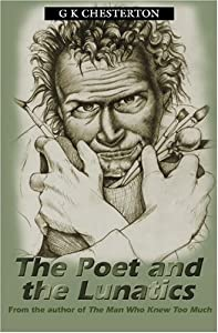 "Cover of ""The Poet and the Lunatics"""