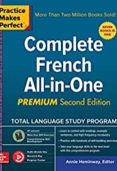 Livres Couvertures de Practice Makes Perfect: Complete French All In One