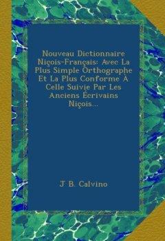 Telecharger Nouveau Dictionnaire Nicois Francais Avec La