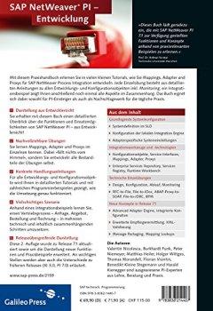 Livres Couvertures de Praxishandbuch SAP NetWeaver PI - Entwicklung