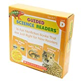 Scholastic Guided Science Readers Level D (16 Books, Activity Book & CD) スカラスティック サイエンス リーダーズD・CD付き