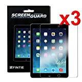 Fintie Apple iPad Air / iPad 5 Screen Protector - 3-Pack Clear Premium Screen Protector Film Guard for iPad 5 Air (5th Generation)