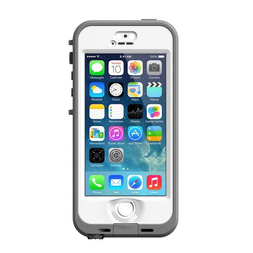 【日本正規代理店品・保証付】LIFEPROOF nuud case for iPhone5s White ホワイトlife-ip5s-nuud-white