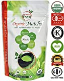 US Whole Food Premium Japanese Matcha Green Tea Powder | 100% USDA Organic | Super Antioxidant Energy Booster, Fat Burner, Culinary Grade, Starbucks Latte, Shake, Baking, Smoothies | Vegan Gluten Free