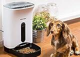 猫&犬ごはん用 自動給餌器 カリカリマシーン™ 1年保証 タイマー式音声録音機能付き オートペットフィーダー 安心の日本メーカーサポート キャットフード&ドッグフード ドライタイプ専用 自動きゅうじ器
