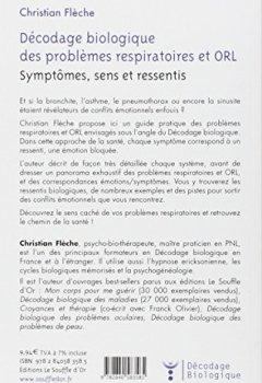Livres Couvertures de Décodage biologique du système respiratoire et ORL : Symptômes, sens et ressentis