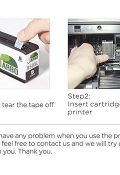 Livres Couvertures de JARBO Compatibles 950 XL 951 XL Cartouche d'encre Grande capacité Compatible avec Officejet Pro 8600 8610 8620 8630 8640 8660 8615 8625 8100 251dw 271dw Imprimante (2 Noir,1 Cyan,1 Magenta,1 Jaune)