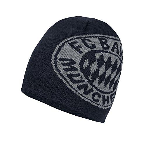 FCB München Fan-Shop Wendemütze schwarz/anthra