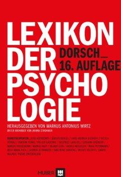 Cover von Dorsch - Lexikon der Psychologie