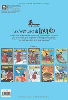 Livres Couvertures de Les Aventures de Loupio, Tome 11 : Les archers et autres récits