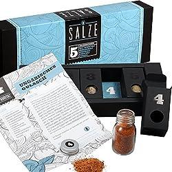 Gewürzset Salze - Die perfekte Geschenkidee für Geniesser!