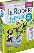 Dictionnaire Le Robert Junior illustré - 7/11 ans - CE-CM-6e - Édition anniversaire