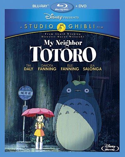 My Neighbor Totoro (Two-Disc Blu-ray/DVD Combo) (1988) (北米版)