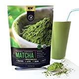 New! Authentic Japanese Matcha Green Tea Powder By Jade Leaf Organics - 100% USDA Certified Organic, All Natural, Nothing Added - Culinary Grade for Mixing into Smoothies, Lattes, Baking & Cooking Recipes (100g value size)