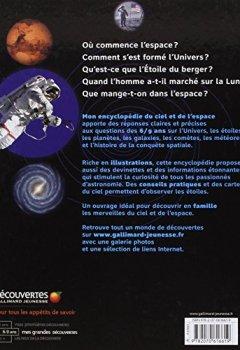 Livres Couvertures de Mon encyclopédie 6-9 ans du ciel et de l'espace