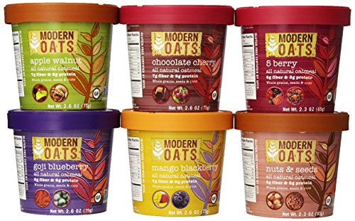Modern Oats All Natural Oatmeal, Variety Pack, 12 Count