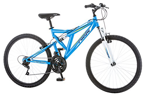Pacific Women's Shire Full Suspension Bicycle with 26