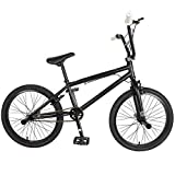 KHE Evo 0.F Freestyle BMX Bicycle, 20 inch wheels, 19 inch frame, Black