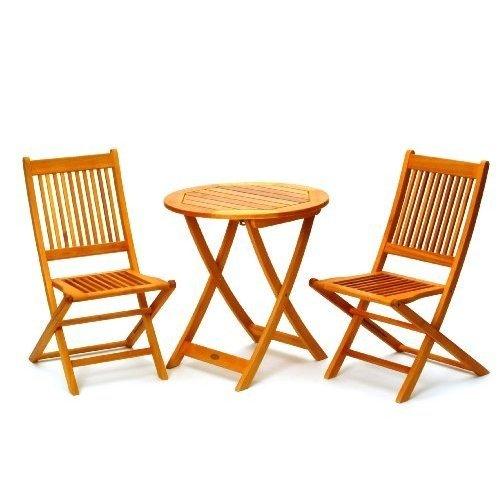 Belardo 255565 Balkon-Set 1 Minoa, Eukalyptus FSC Pure