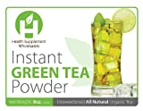 All Natural Organic Instant Green Tea Powder 8 oz. - Buy One Get One Free!