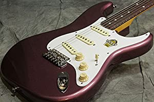 Classic 60s Stratocaster Texas Special Matching Headcap Burgundy Mist