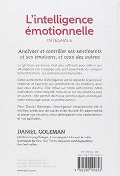 Livres Couvertures de L'intelligence émotionnelle : Intégrale