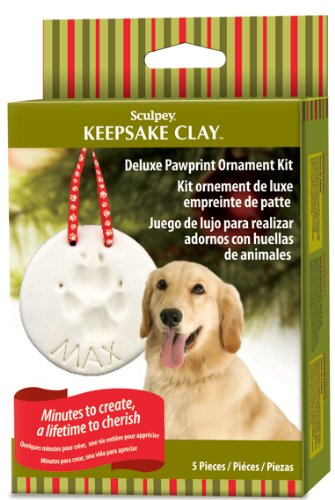 Sculpey Keepsake Deluxe Pawprint Kit
