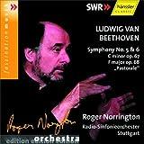 ベートーヴェン : 交響曲 第5番「運命」&第6番「田園」 (Ludwig Van Beethoven : Symphony No.5 & 6 : C minor op.67, F major op.68 ''Pastorale'' / Roger Norrington, Radio-Sinfonieorchester Stuttgart) [輸入盤]