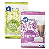 Perla Coffee Pods Variety Pack (Hazelnut & Toffee) Compatible with Senseo Machines (36 Pods)