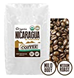Nicaragua El Porvenir Organic Direct Trade, Whole Bean, Fresh Roasted Coffee LLC. (5 lb.)