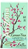AriZona Green Tea with Ginseng & Honey, 20 Count Tea Bags, 1.09-Ounce Boxes (Pack of 6)