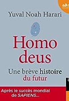 Livres Couvertures de Homo Deus: Une Brève Histoire Du Futur