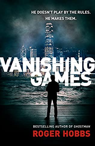 book cover of </p> <p>Vanishing Games </p> <p>
