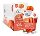Plum Organics Baby Just Veggies, Sweet Potato, 3 Ounce