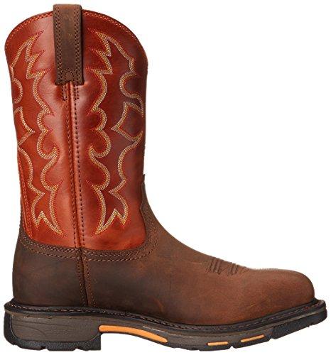 Ariat Men S Workhog Wide Square Toe Steel Toe Work Boot