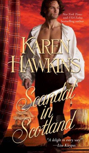 Scandal in Scotland (Hurst Amulet #2) by Karen Hawkins