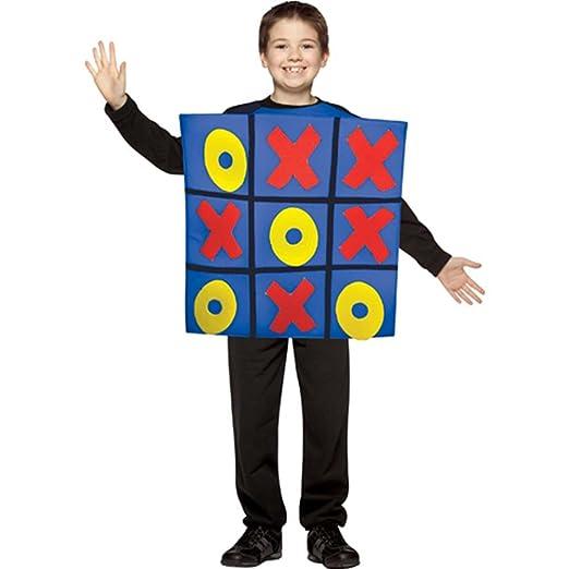 Tic Tac Toe Game Board Kids Costume