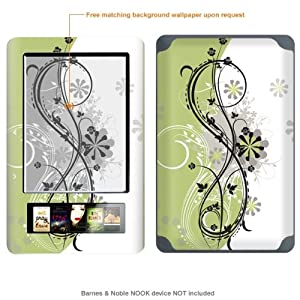 Protective Decal Skin Sticker for Barnes & Noble Nook case cover NOOK-249