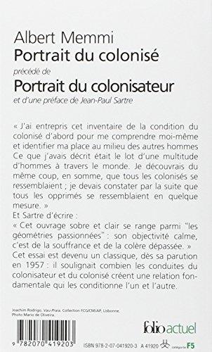 Telecharger Portrait du colonisé, précédé de : Portrait du colonisateur de Albert Memmi